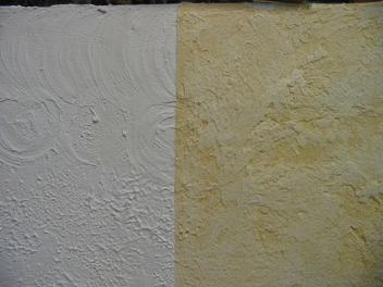 Murs de provence for Plafond en stucco